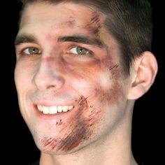 Halloween Scar Tattoo Flesh Wound Cut Graze Fancy Dress Prop Prank Joke