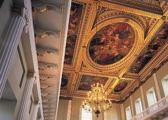 Banqueting House at Whitehall, London.   Historic Royal Palaces - http://www.hrp.org.uk/BanquetingHouse/
