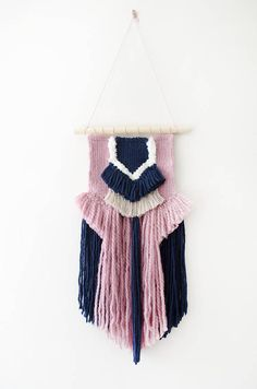 Beautiful Woven Wall Hanging // Made to Order // Handmade #affiliate