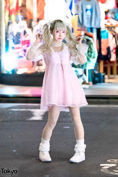 Japanese idol Rinahamu (CY8ER, ex-BPM15Q) on the... | Tokyo Fashion