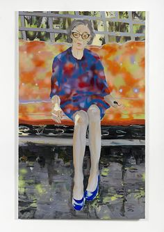 Simon Lee Gallery — Paulina Olowska, Granny 2012