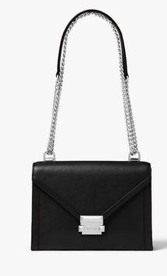 905a1bad064a Oh my new classic black handbag, how I love you! MICHAEL KORS Whitney Large