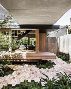 Australian Architecture, Australian Homes, Minimalist Architecture, Modern Architecture, Pop Up, Casa Pop, Pergola, Window Shutters, Up House