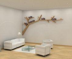 Libri sul ramo, come foglie sugli alberi | Fare casa