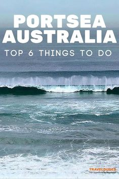 Top 6 Things to Do in Portsea, Australia - Portsea is a resort town located across Port Phillip from Melbourne, Victoria, Australia Travel Guides, Travel Tips, Melbourne Victoria, Victoria Australia, Airlie Beach, New Zealand Travel, Australia Travel, Visit Australia, Ultimate Travel