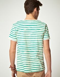 painted stripe t-shirt $57