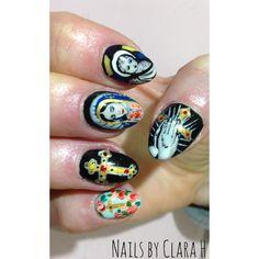 Nails by Clara H - Holy Nails Batman