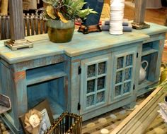 Outdoor Kitchen Made From Repurposed Items | Pallet-to-Finish:: Our Top TEN Creative Recycle, Upcycle, Re-use ...