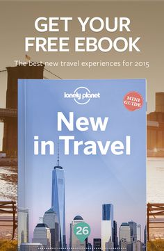Brand new tours, just opened hiking trails, edgy galleries… if it's new in travel, you can be sure #LonelyPlanet's experts are the first to know. New in Travel is crammed with 26 of the best new experiences in the world, including exploring the inside of an Icelandic ice cap, staying with a tribe in Papua New Guinea or zip-lining through African valleys. Each of the experiences has recently opened, or will start up in 2015. CLICK TO DOWNLOAD.