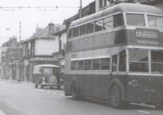 Highland Rd Eastney, at junction of Albert Rd 1961 Old Pictures, Old Photos, Portsmouth England, Lonely, Nostalgia, History, City, Building, Places