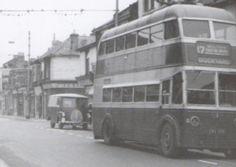 Highland Rd Eastney, at junction of Albert Rd 1961