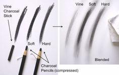Charcoal drawing tips #charcoal #drawing #art
