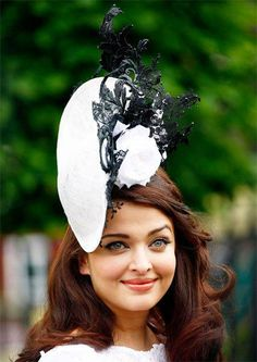 Bollywood actress Aishwarya Rai attends the first day of the Royal Ascot horse racing festival at Ascot, southern England, June 18, 2013. (Photo: Reuters)