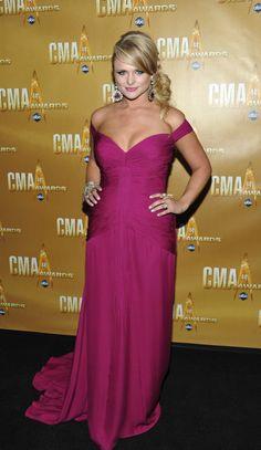 Miranda Lambert. Love her because she's super talented, beautiful and not stick-thin!