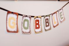 Bits Of Everything: Gobble Free Printable