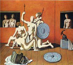 Giorgio de Chirico (1888 - 1978) | Metaphysical Art | Gladiators
