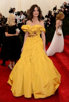 Too, Much. Yellow. Worst Dressed Met Gala 2014: All The Stars That Failed On Fashion's Biggest Night
