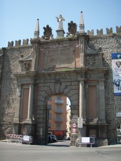 """My Gate"" in Viterbo..walked through it each and every day."