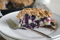 Maria's Mixing Bowl | Blueberry Buckle