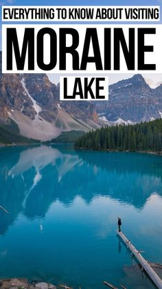All you need to know about Moraine Lake in Banff National Park Alberta Canada Newfoundland Tourism, Windsor Canada, Discover Canada, Moraine Lake, Visit Canada, Worldwide Travel, Canadian Rockies, Banff National Park, New York Travel
