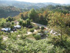 Kamperen op kleinschalige familiecamping Quinta d Alijo in Noord-Portugal