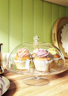 ARV BRÖLLOP cake stand - a festive way to serve pastries, cheese or cakes any time.