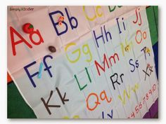 Alphabet Shower Curtain | Simply Kinder