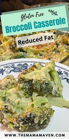 Helen's Gluten Free Broccoli Casserole #lubalin #glutenfreerecipes #broccolicasserole #cheesybroccoli #cheesybroccolicasserole #glutenfree #sidedish #tiktok #tiktockrecipes