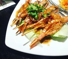 😃😃😃Thai food in Brisbane #sydneyfood #sydneyfoodie #sydneyfoodblogger#dinner#thaifood #traditionalgrilled#prawn
