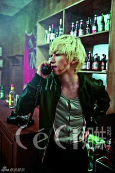 Super Junior's Eunhyuk // CeCi // September 2011
