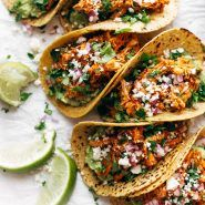The Best Chicken Tinga Tacos Recipe - Pinch of Yum