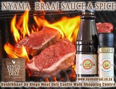 For your Nyama Braai Sauce & Spice and many other great products visit Kings Meat Deli at Castle Walk and Lynnwood Bridge, Pretoria, you will not be disappointed. Pretoria, Disappointed, Deli, South Africa, Steak, Bridge, Spices, Castle, Food