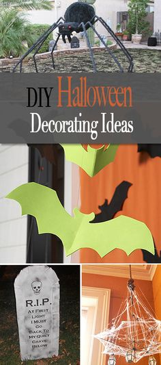 DIY Halloween Decorating Ideas • Great projects and ideas for decorating your house for haunting!