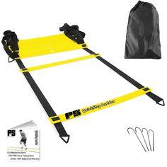 Premium Soccer Training Agility Ladder + Free Carrying Bag