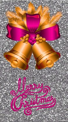 Christmas Scenes, Christmas Art, Christmas Photos, Christmas Decorations, Xmas Bells, Merry Christmas Wallpaper, Cellphone Wallpaper, Pattern Wallpaper, December