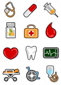 Medical Icon, Medical Symbols, Finger Plays, Blood Donation, Cute Stickers, Happy Planner, Planner Stickers, Lettering, Activities For Kids