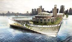 Chicago Navy Pier Proposal - BIG Architects + AECOM