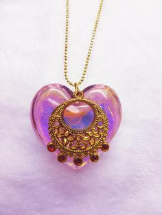 Sailor Moon Inspired Real Glass Iridescent by FantastiquePlastique, $22.50 So pretty!!