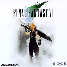 Final Fantasy 7. The best RPG video game for Playstation!!!