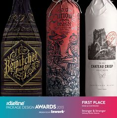 The Dieline Package Design Awards 2013: Wine & Champagne, 1st Place - Safeway BottleSleeves - The Dieline -