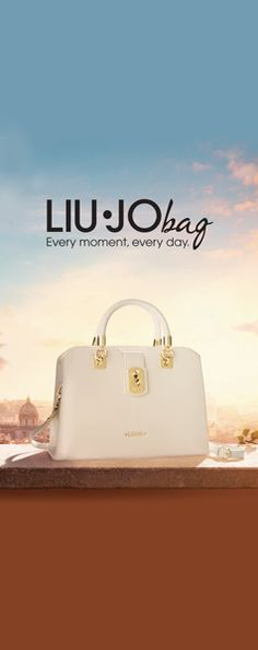 Liu Jo Bag. Every moment, every day. #liujobag #Itbag