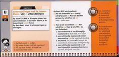 Samenstellingen met de tussenklank /u(n)/ : uitzonderingen (groep 8)