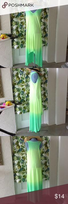 """Sun dress Light weight sun dress, 52"""" from top collar to bottom hem, never worn! Brisa Dresses Maxi"""