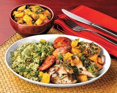 Chicken with Lime and Mango Salsa - Recipes at Penzeys Spices