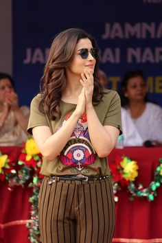 Alia Bhatt At Narsee Monjee Educational Trust Sports Meet For Special Children WhatsApp us for Purchase & Indian Celebrities, Bollywood Celebrities, Bollywood Fashion, Bollywood Actress, Bollywood Style, Alia Bhatt Photoshoot, Aalia Bhatt, Alia Bhatt Cute, Alia And Varun
