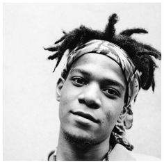 """Jean-Michel Basquiat // ""Most kings get their head cut off."""""