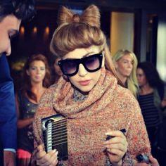 Gaga in Estonia today