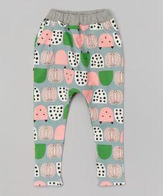 Gray Cat Harem Pants - Infant, Toddler & Girls