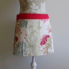 Wrap skirt, mini skirt