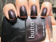 Butter London, Branwen's Feather, swatched once